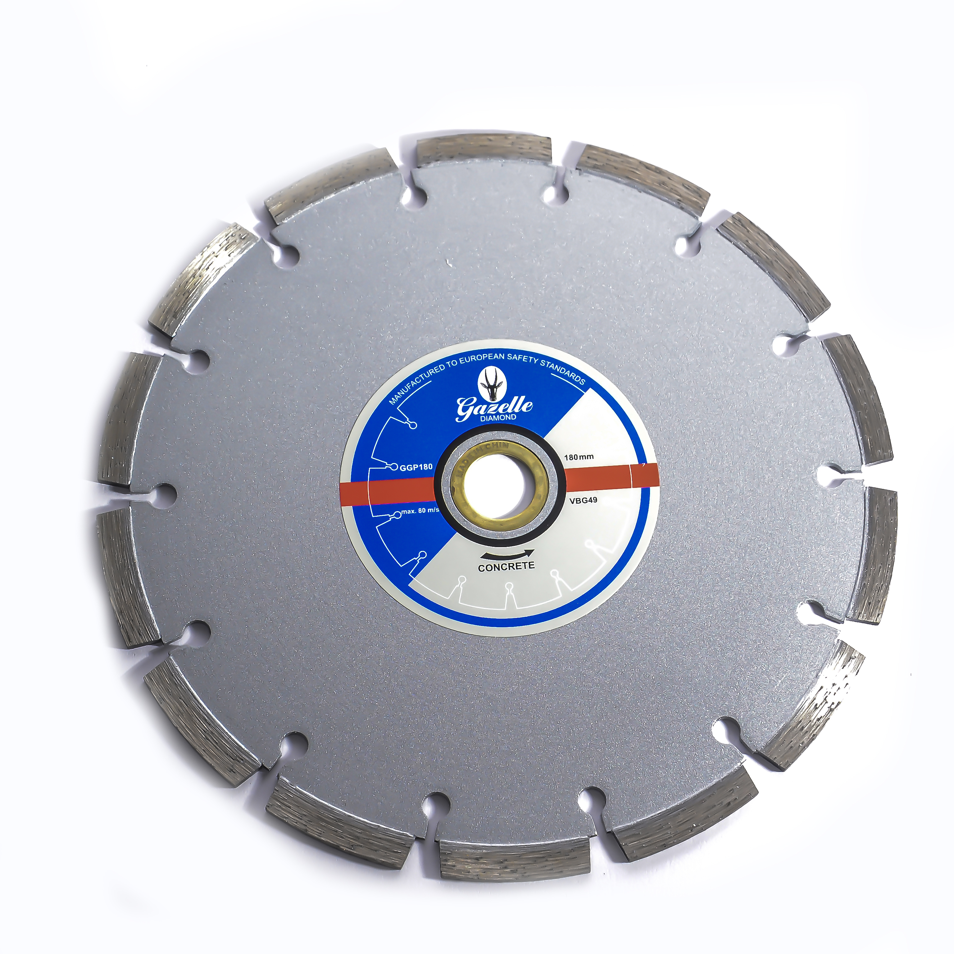 GAZELLE GGP180 - Concrete Cutting Blades 180mm