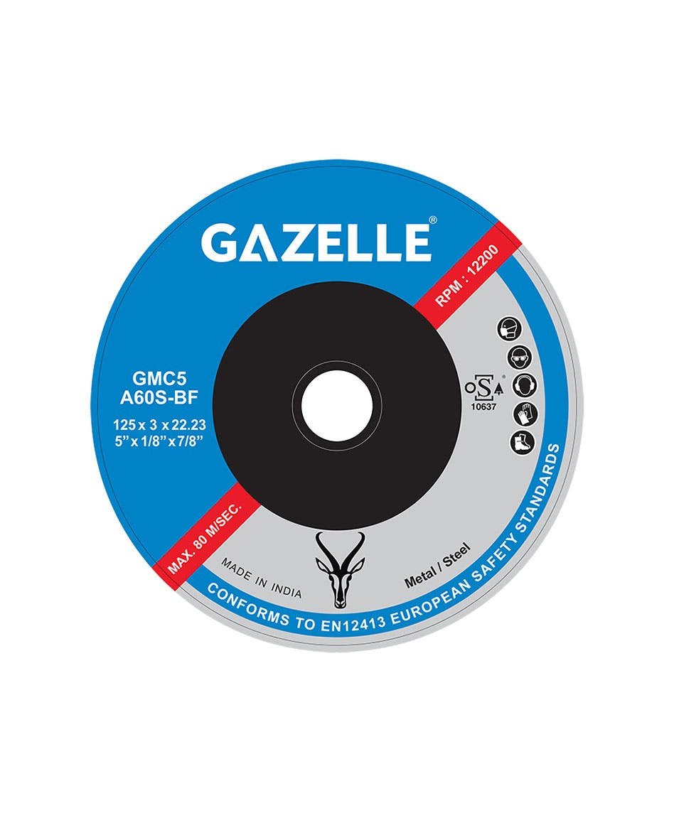 GAZELLE GMC7 - Metal Cutting Disc 7in – 180 x 3 x 22mm