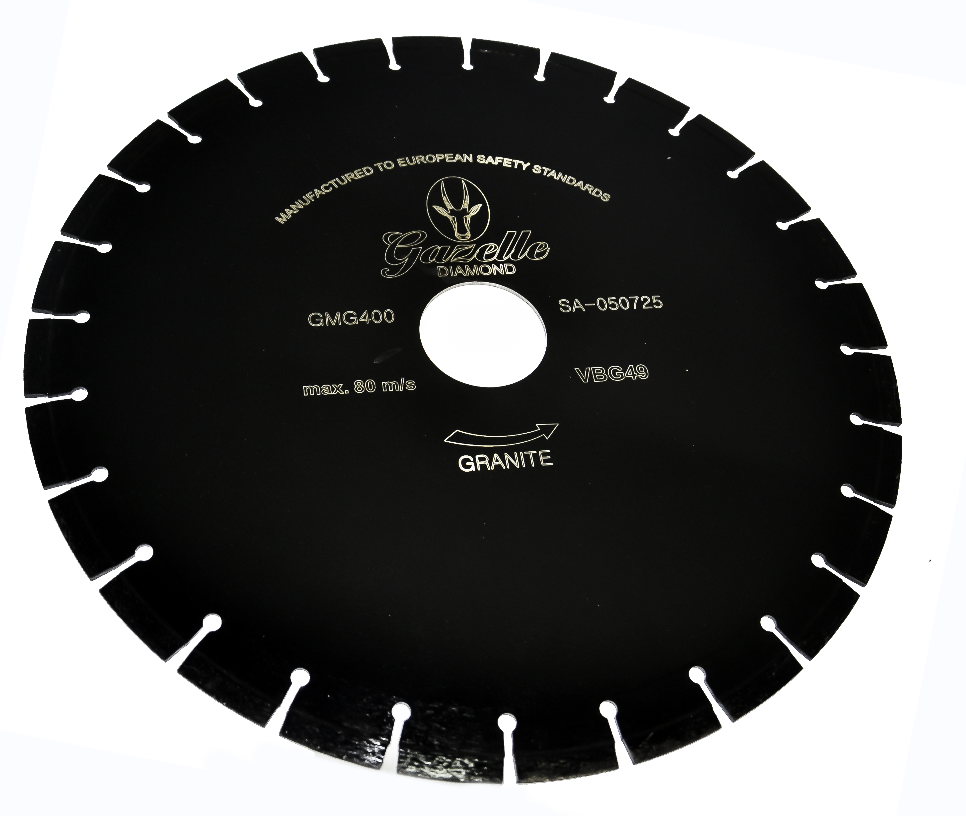 GAZELLE GMG350 - Marble/Granite Cutting Blades 350mm