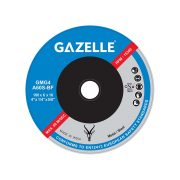 GAZELLE GMG4-Rapid - Metal Grinding Disc 4in – 100 x 6 x 16mm Rapid