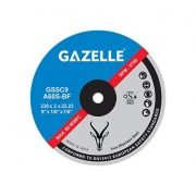 GAZELLE GSSC4.5 - Stainless Steel Cutting Disc 4.5in – 115 x 3 x 22mm