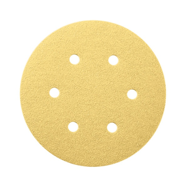 GAZELLE GVD6/120 - Velcro Backed Disc 6in – 150mm x 120Grit  (Pack of 50)