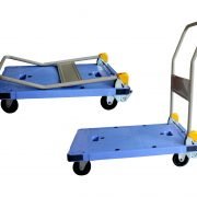 GAZELLE PT300 - Platform Trolley – Steel Bed w/Folding Handle