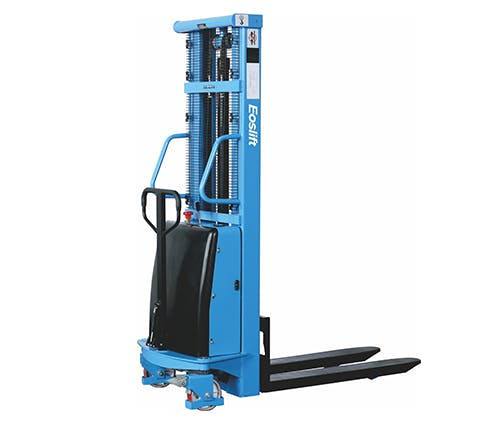 GAZELLE S15 - Semi Electric Hand Stacker; 3500mm lifting