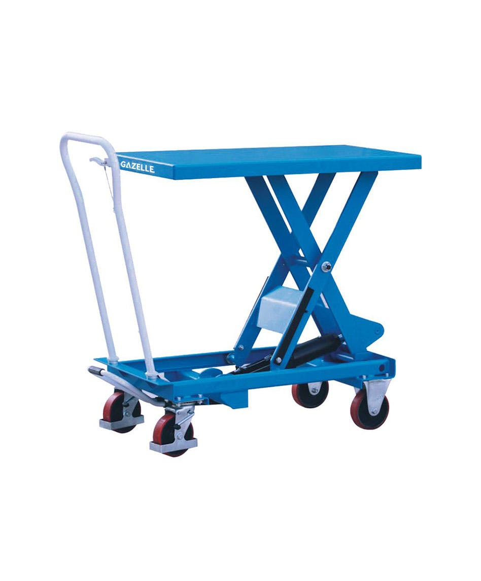 GAZELLE TA50 - Scissor Lift Table Truck; Cap:500Kg