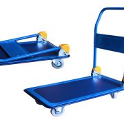 GAZELLE TD1 - Platform Trolley – Steel Bed w/Folding Handle