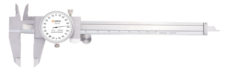 GROZ DLC/150 - Dial Caliper 0-150mm