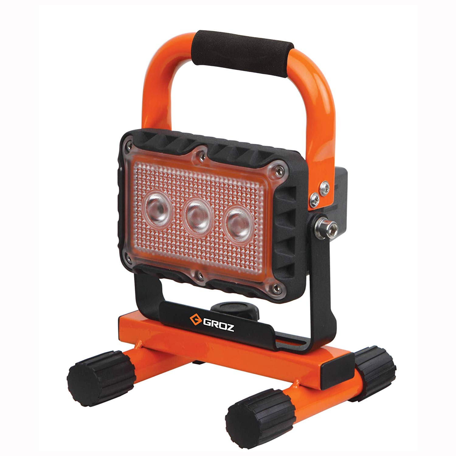 GROZ LED/650 - 9W USB Rechargeable Aluminium body Worklight, 500 Lumen, IP 65 Rated, Magnetic base