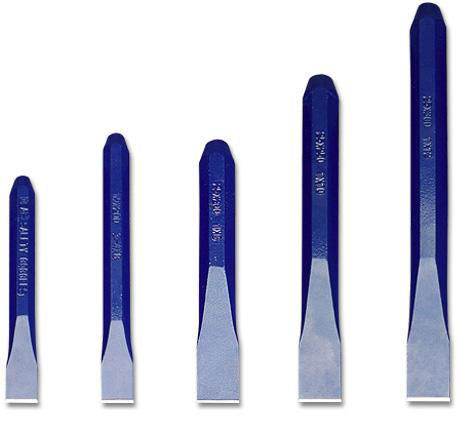 GROZ CHS/ST/6/1-2 - Cold Flat Chisel 6in X 1/2in Blade
