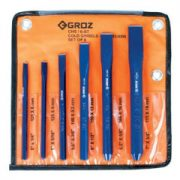 GROZ CHS/ST/6/ST - Cold Flat Chisel Set 6-Pc