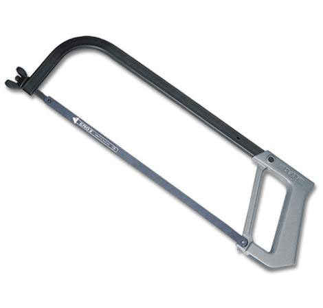 GROZ HF/15/BS - H.D. Hacksaw Frame Black/Grey 12 In