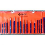 GROZ KIT/26/ST - Punch & Chisel Set 26pc