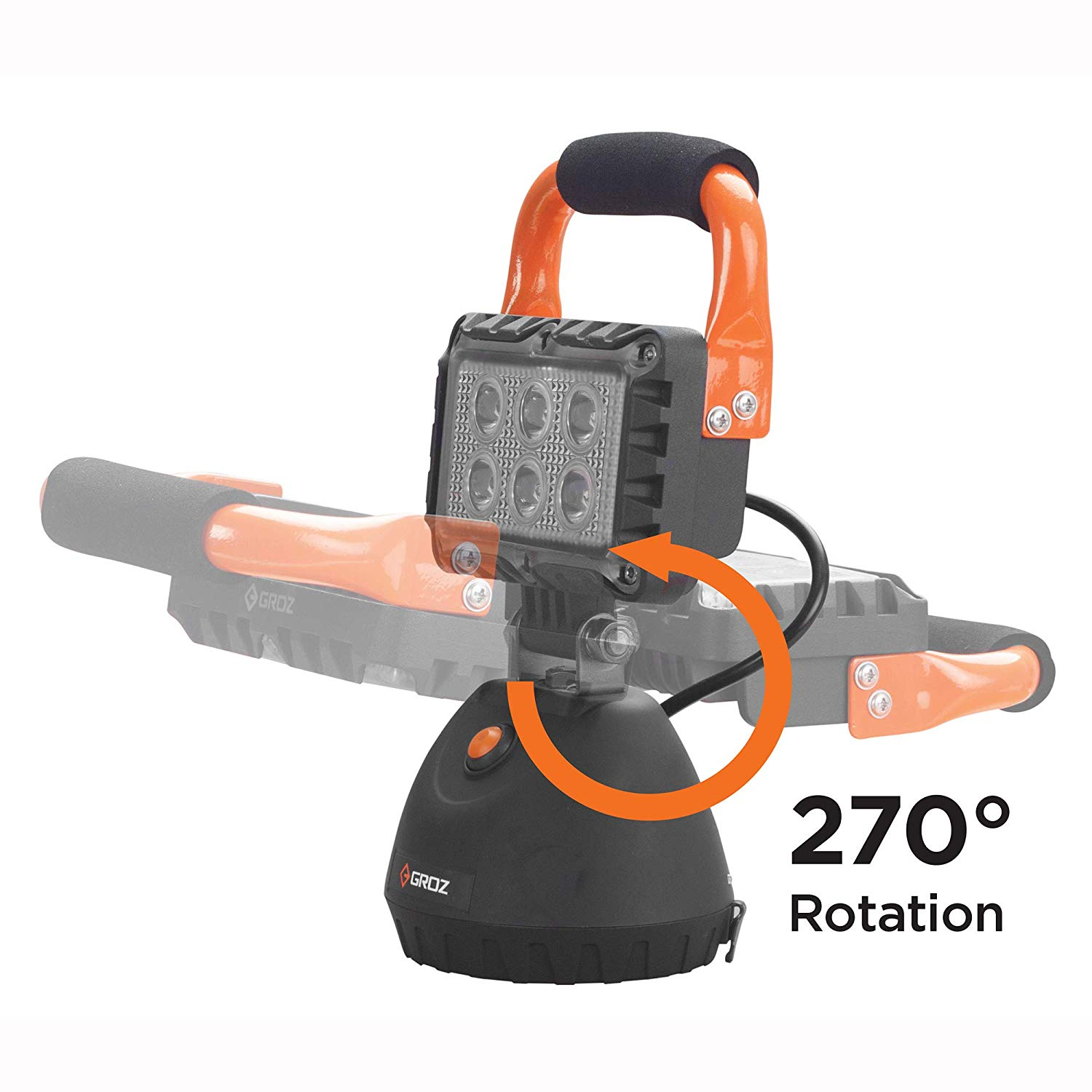 - Portable Rechargeable LED Work Light/lamp 18W