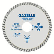 GAZELLE GXT115 - Tile Cutting Blades 115mm 4.5in Thin blade