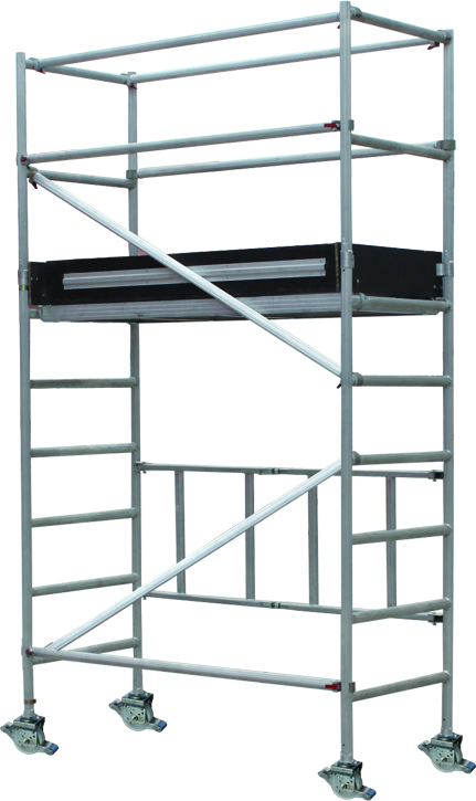 GAZELLE G6202 - Aluminium Scaffolding – Working Height 3.8M ; Platform Height 1.8M;