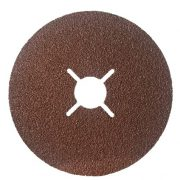 GAZELLE F224-4.5-100 - Coated Fibre /Sanding Discs 4.5in – 115mm x 100G