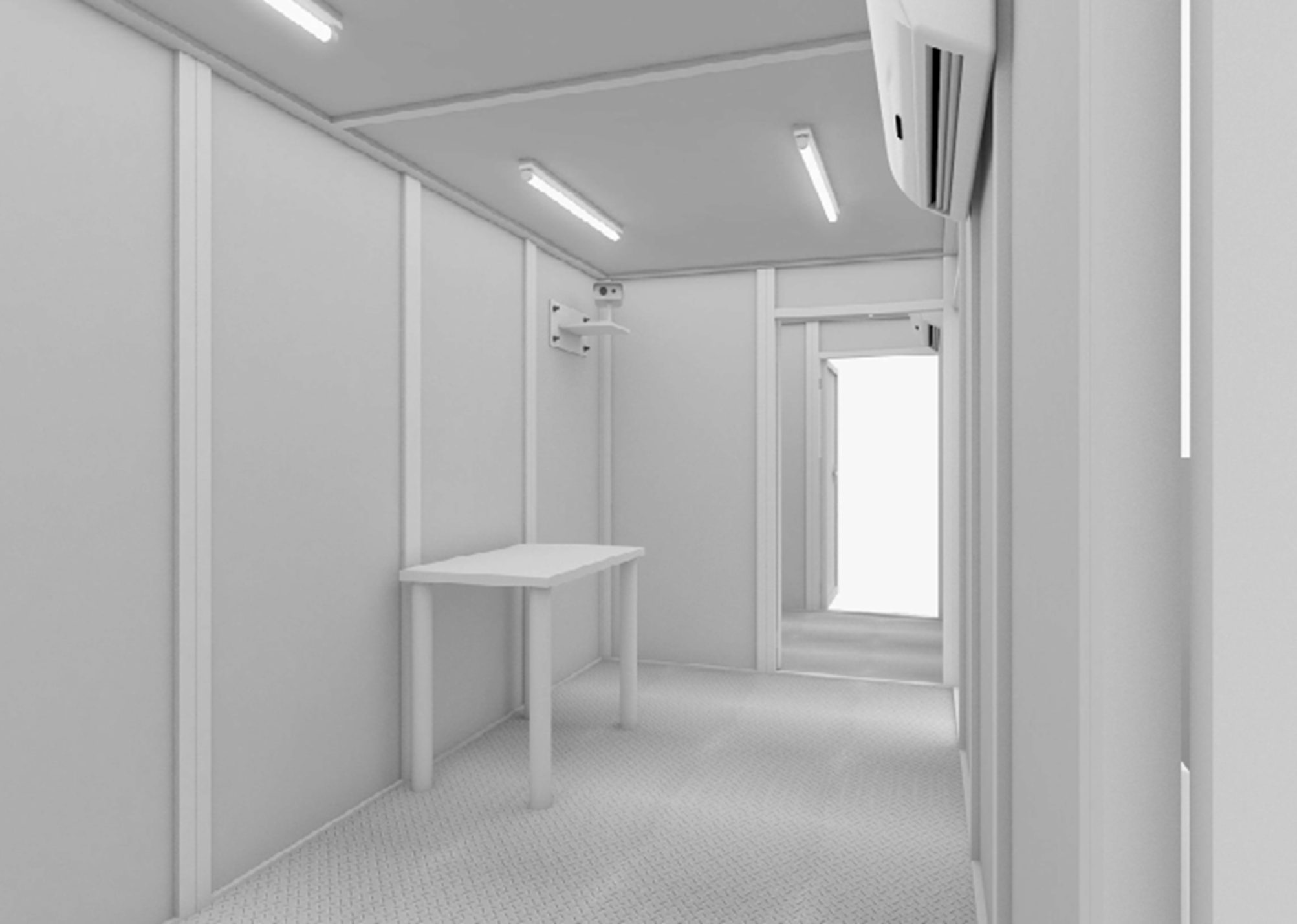 Gaz_G9603 Thermal Screening Cabin - Thermal Screening Cabin