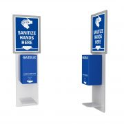 GAZELLE G9605 - Wall Mounted Hand Sanitizer with Contactless Dispenser