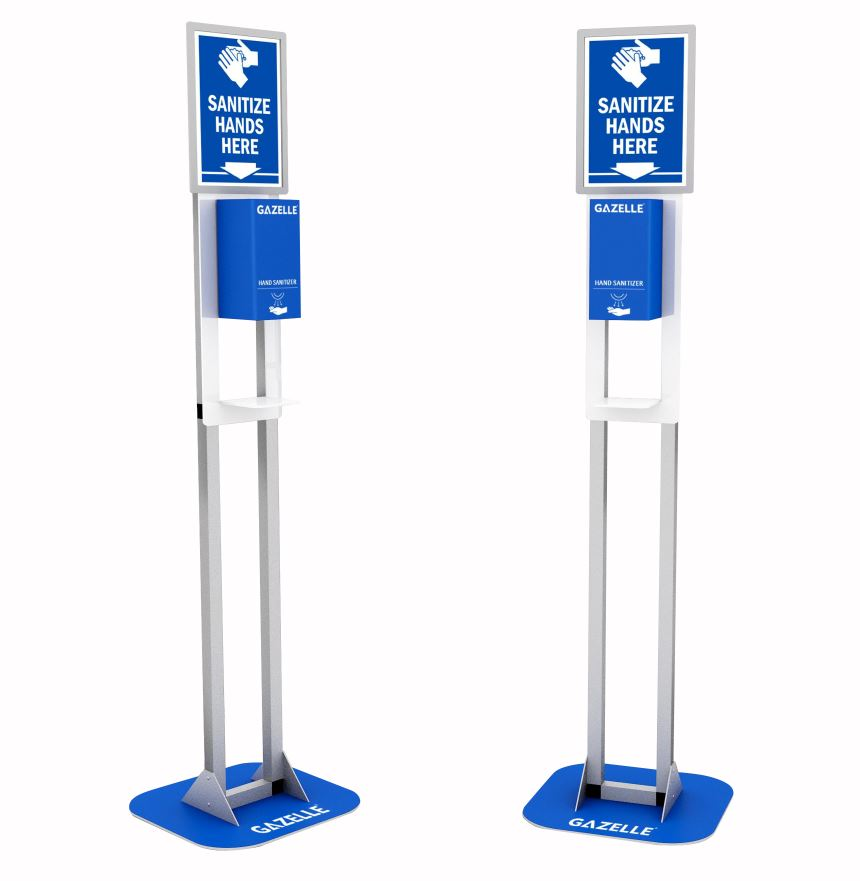 Contactless Sanitizer Dispensers