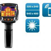 TESTO 872 - Thermal Imager 320×240 pixels, App and Laser
