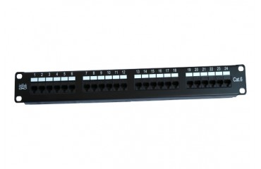 RUBBERMAID_IP-PP648V2_Enhanced Patch Panel - Infilink- Enhanced Patch Panel 48 Port Cat-6 UTP RJ-45