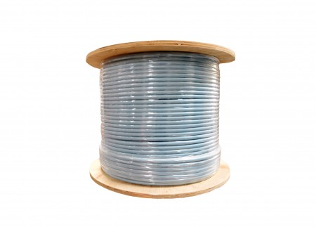 INFILINK IP-CSF6AHPBL - Infilink- Cable CAT-6A, SFTP, High Performance, Solid, 4P*23AWG, LSZH 40% (Blue) (305 Mtr/Reel)