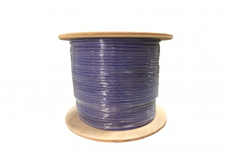 INFILINK IP-CSF6 - Infilink-Cable CAT-6,SFTP, High Performance,   Solid, 23 AWG LSZH (Purple)  (305 Mtr/Reel)