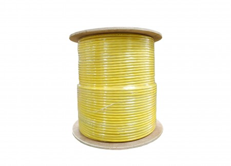INFILINK IP-CU6AHP - Infilink-Cable CAT-6A, UTP, High Performance, 4P*23AWG, LSZH (Yellow) (305 Mtr/Reel)