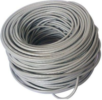INFILINK IP-CU6P - Infilink- Cable CAT-6,UTP, High Performance, Solid, PVC,  ETL, UL (Gray) (305 Mtr Reel-In-A-Box)
