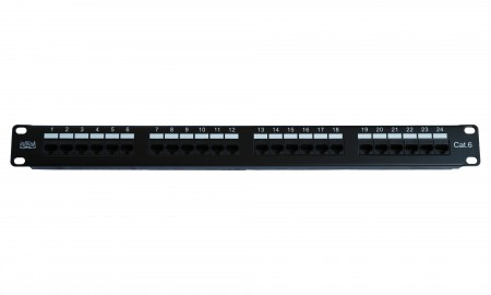 INFILINK IP-PP624V2 - Infilink- Enhanced Patch Panel 24 Port Cat-6 UTP RJ-45