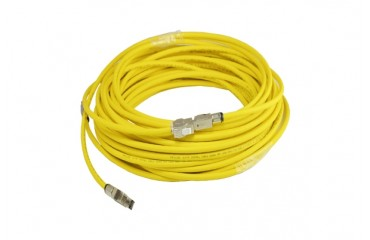 INFILINK_IP-CU6AHP_Cable Cat-6 YL - Infilink-Cable CAT-6A, UTP, High Performance, 4P*23AWG, LSZH (Yellow) (305 Mtr/Reel)