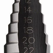 IRWIN 10502853 - Step Drill Bit 10 Hole sizes; 4-22mm