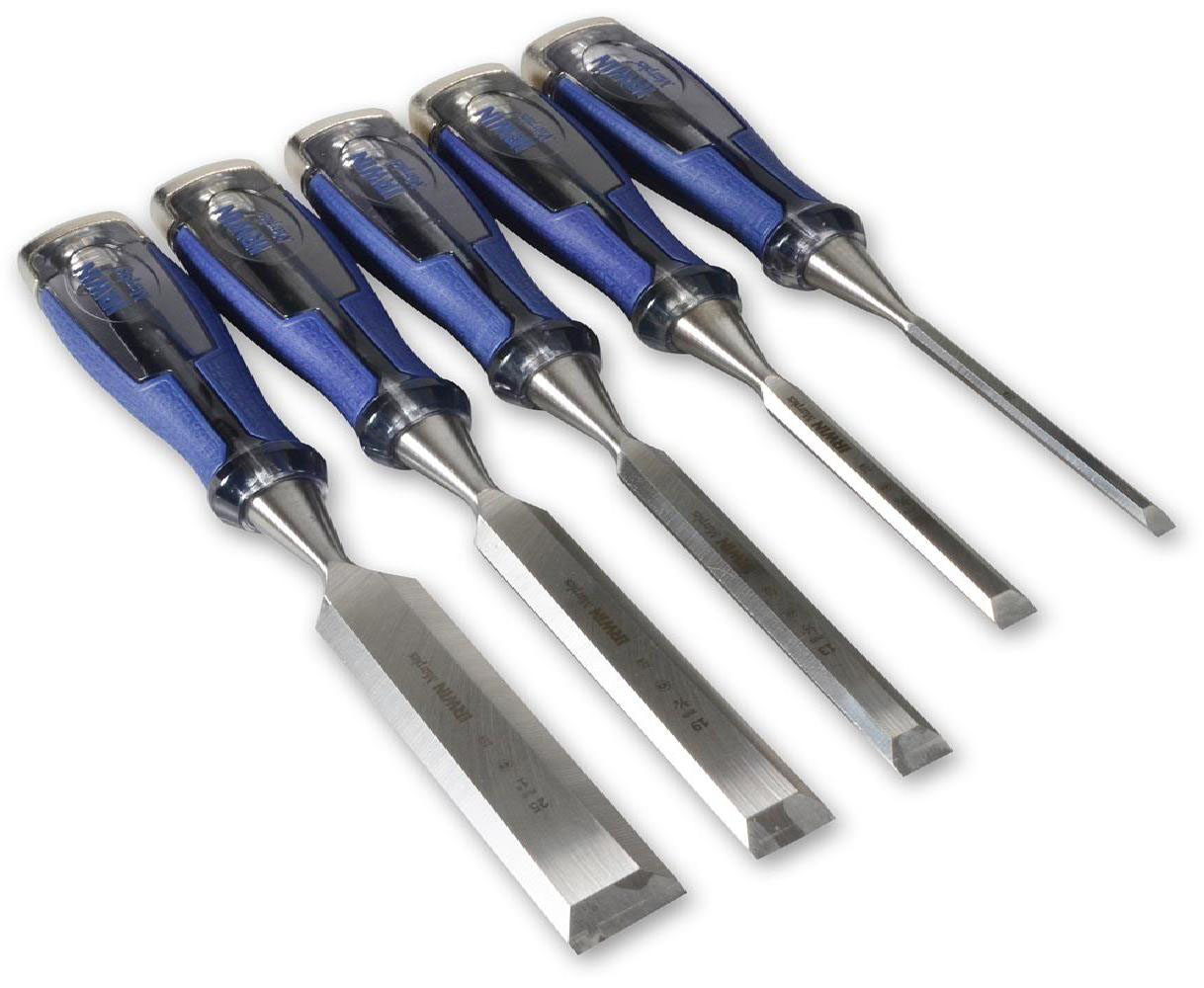 IRWIN 10503421 / M750 - High Impact Chisel Set 5Pcs; 6-25mm