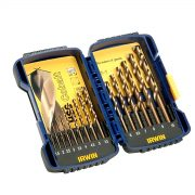 IRWIN 10503990 - HSS Cobalt Drill Bit Set; 15Pcs 1.0-10.0mm