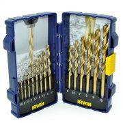 IRWIN 10503991 - HSS Pro Drill Bit Titanium Drill Set 15Pcs