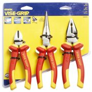 EXPERT 10505519 - 1000V VDE 3 Pc Plier Set