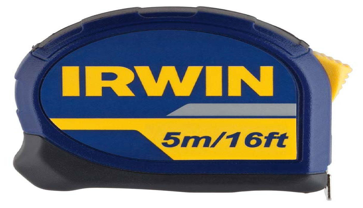 IRWIN 10507788 - Standard measuring tape 5m/16ft