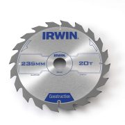 IRWIN 1897207 - Professional Wood Circular Saw Blades 9in / 235 x 20T x 30 mm
