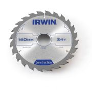 IRWIN 1907698 - Professional Wood Circular Saw Blades 6.5in / 164 x 24T x 30 mm