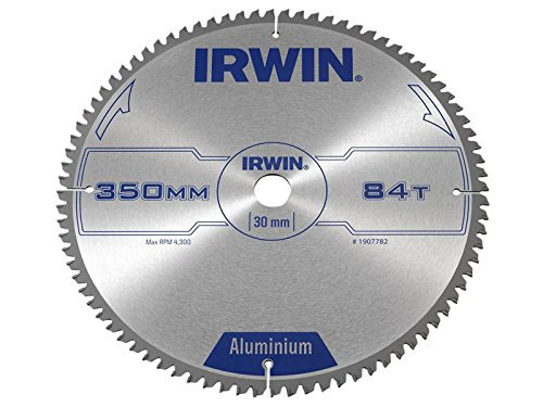IRWIN 1907782 - Professional Aluminium Circular Saw Blade; 350x84Tx30mm
