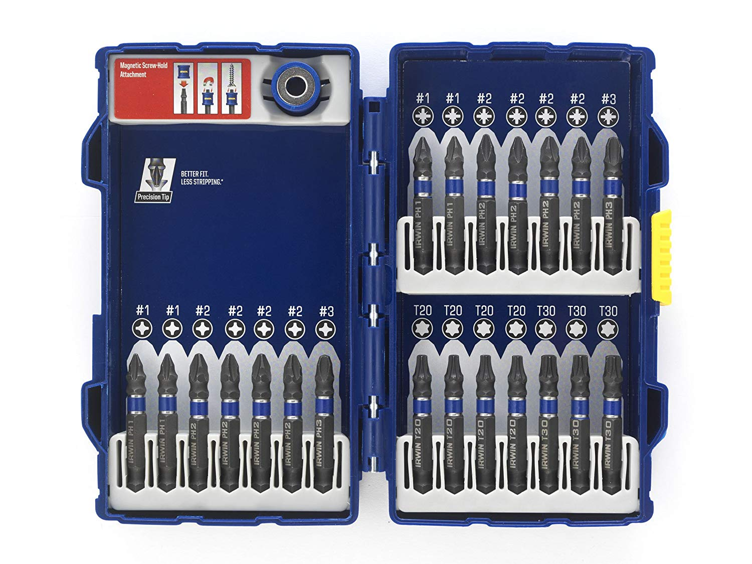 IRWIN 1923436 - Impact Screwdriver Bit 22Pcs