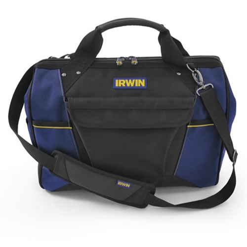 IRWIN 2017823 - Defender ToolBag 450mm/18In 450 x 230 x 330 mm, 1680 Denier Material
