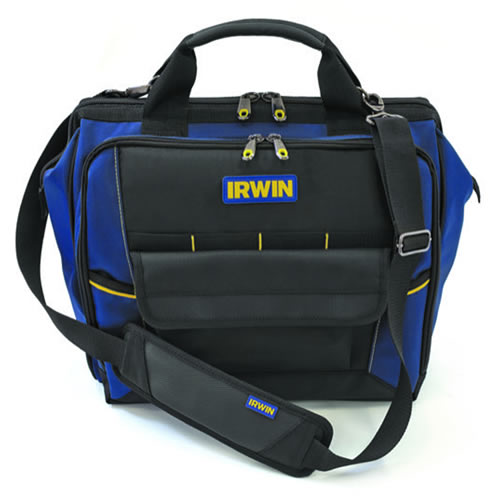 IRWIN 2017825 - Defender Technician ToolBag 400mm/16In 400 x 250 x 370 mm, 1680 Denier Material