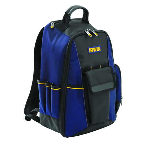 IRWIN 2017826 - Defender Backpack 330 x 175 x 470 mm, 1680 Denier Material
