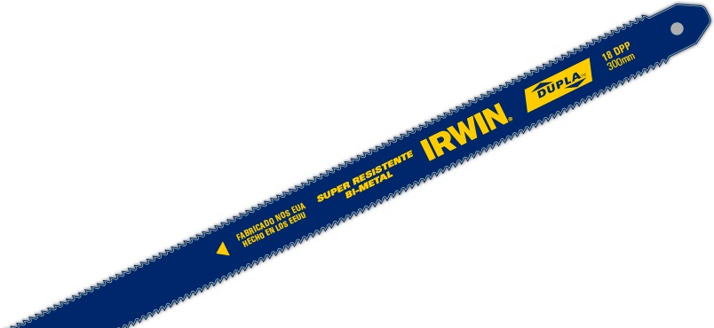IRWIN IW47503 - DUPLA Double side Bimetal Blade 12in x 18T