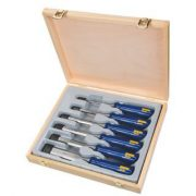 IRWIN M444-S6 - Wood Chisel Set 6 Pcs; 1/4in to 1-1/4in