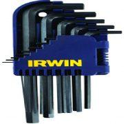 IRWIN T10755 - Short Hex Key Set; 1.5-10mm; 10Pcs