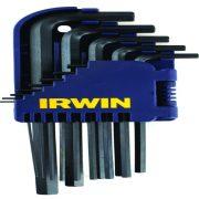 IRWIN T10757 - Ball Point Hex Key Set; 1.5-10mm;  10Pcs