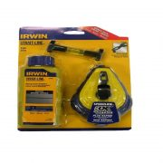IRWIN T64495LP - Chalk Line Set; Red 30m/100ft