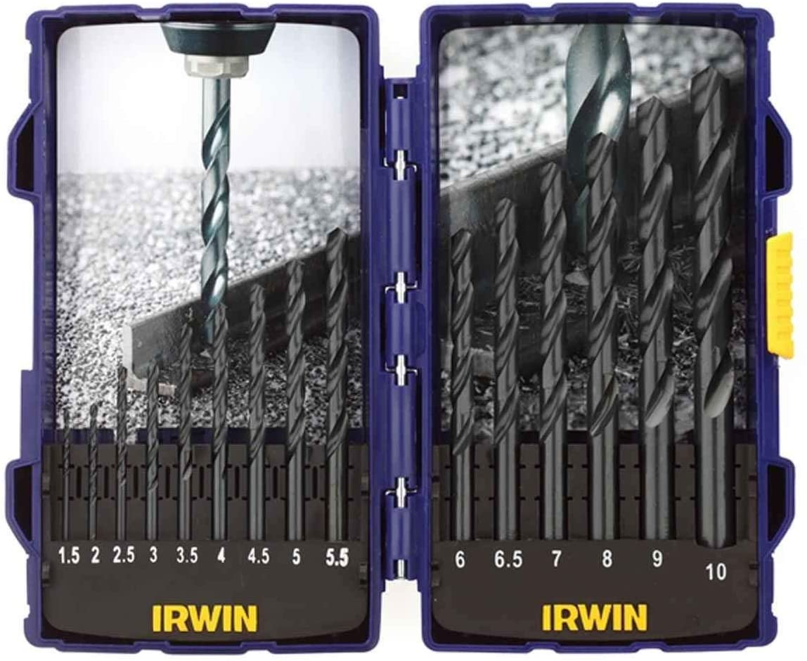 IRWIN 10503989 - HSS Pro Drill Bit 15 Pcs Set 1.5-10.0mm